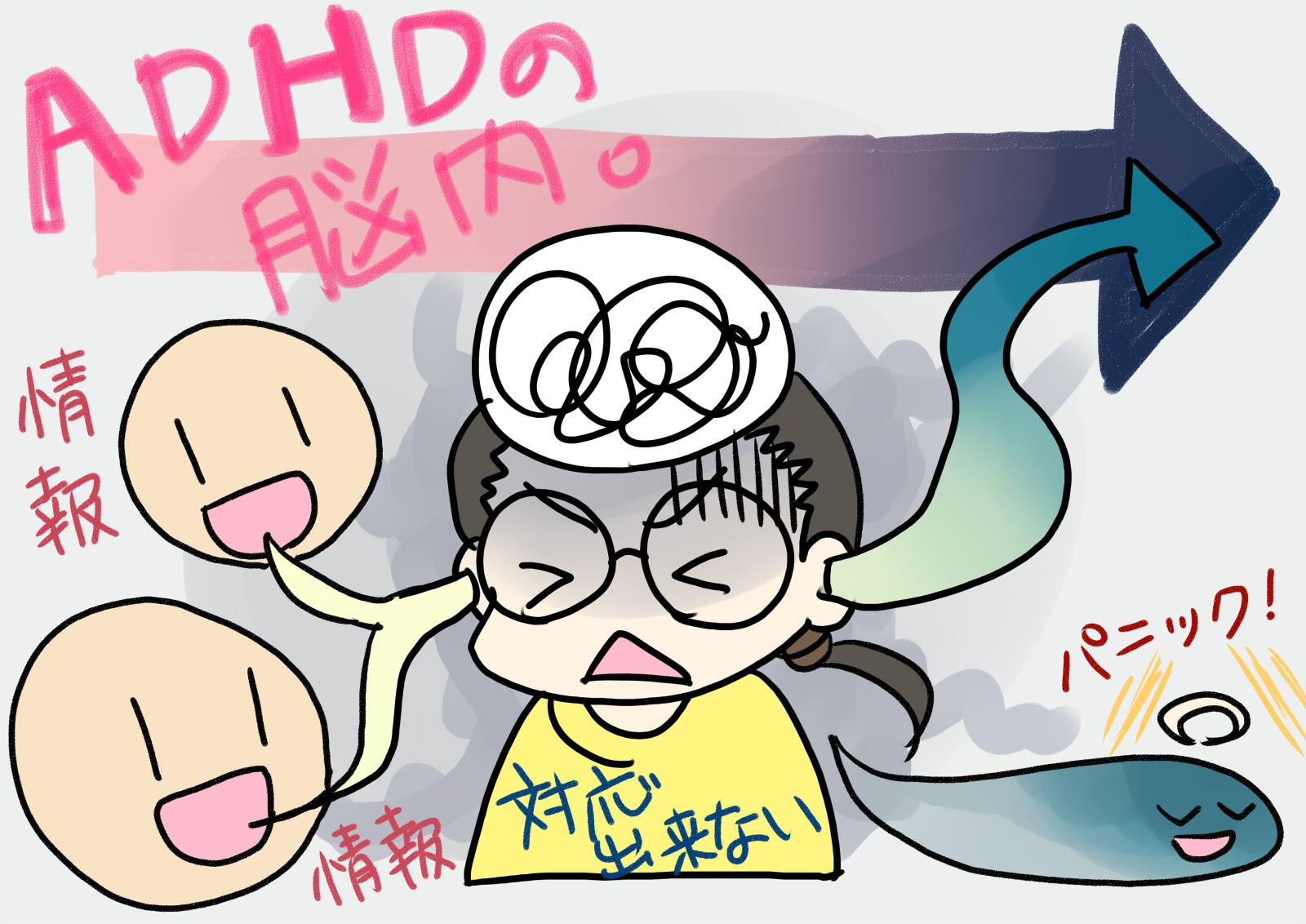 ADHD(注意欠如・多動症)とは何か。どんな発達障害なのか。
