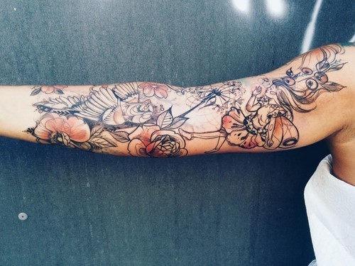 este_surreal_de_fadas_manga_tatuagem