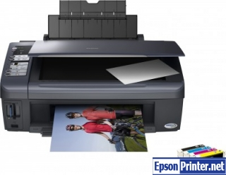 How to reset Epson DX7400 printer