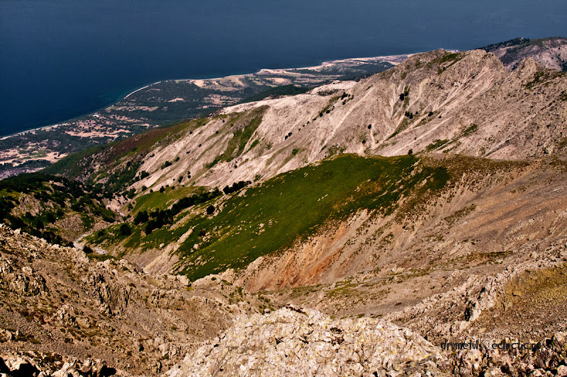 Samothraki Saos mountain legend