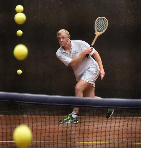 Neil Stutchbury keeps his eye on the ball