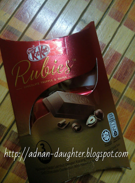produk terbaru kitkat, rubies kitkat, rubies, chocolate truffle and wafer,
