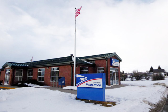 Clyde Park, Montana post office