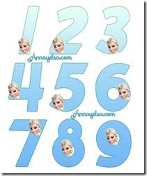 Numeros-Elsa-Frozen