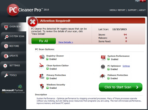 Download PC Cleaner Pro 2016 v14.0 Incl Crack