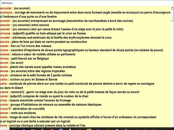 francophone définitions