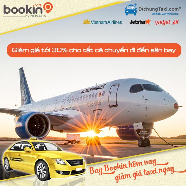 Tổng hợp khuyến mãi vé máy bay giá rẻ các chuyến tại bookin.vn