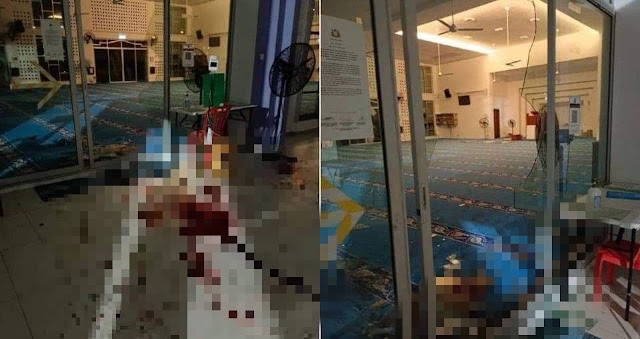 Lelaki maut akibat tumbuk pintu cermin masjid