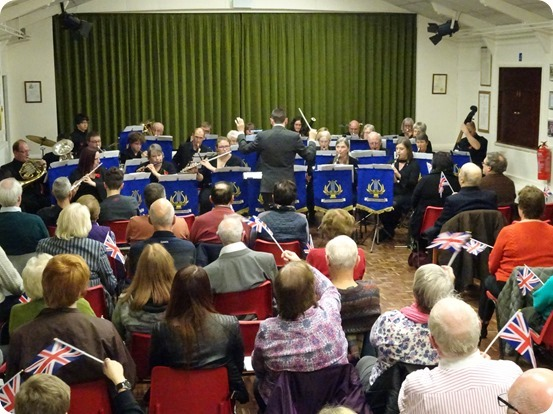 Crewe Concert Band perform Pomp and Circumstance