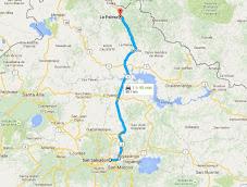 ¿Cómo llegar a La Palma, Chalatenango en bus?