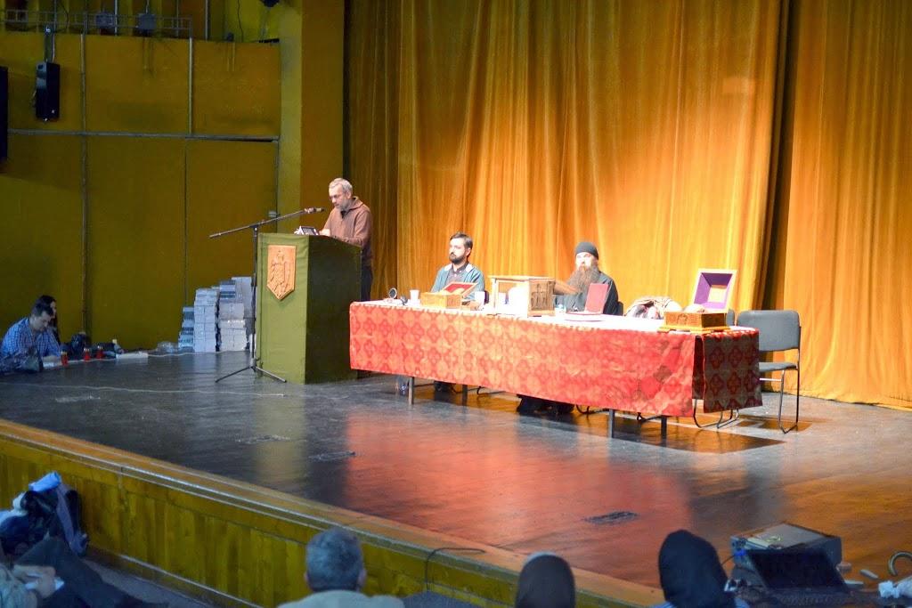 058 Avva Justin Parvu si Sfintii inchisorilor (Teatrul Luceafarul, Iasi, 2014.03.19)