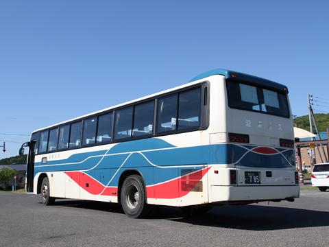 沿岸バス 豊富留萌線 ・785 リア