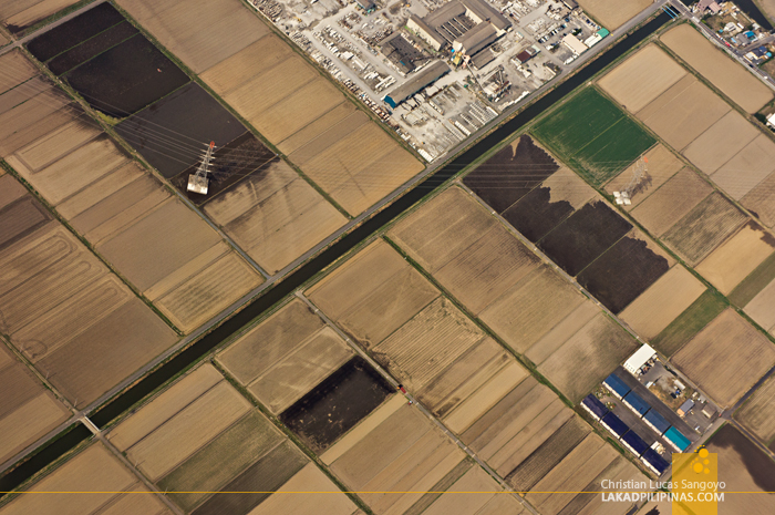 Microchip-Like Aerial Landscapes Over Japan