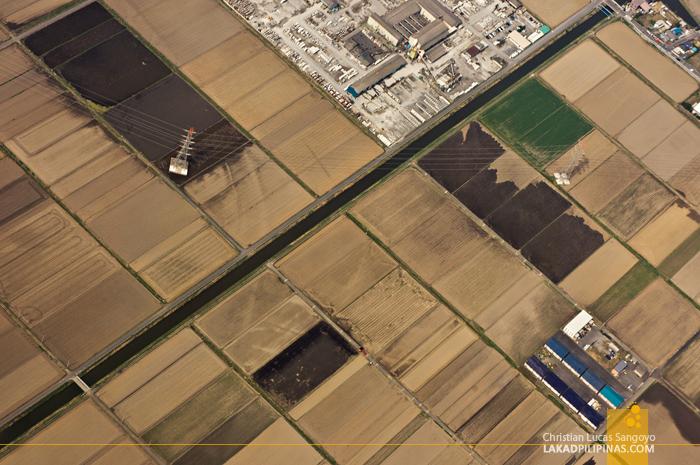 Microchip-Like Aerial Landscapes Over Japan