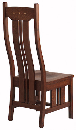 Colonial Chair in Frontier Quarter Sawn Oak