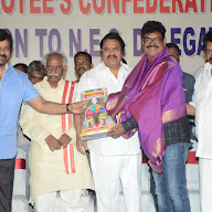 Chiru Dasari At Film Industry Workers Felicitation Pics