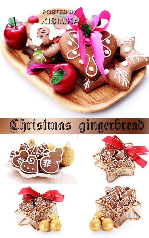 Stock Photo: Christmas gingerbread 2