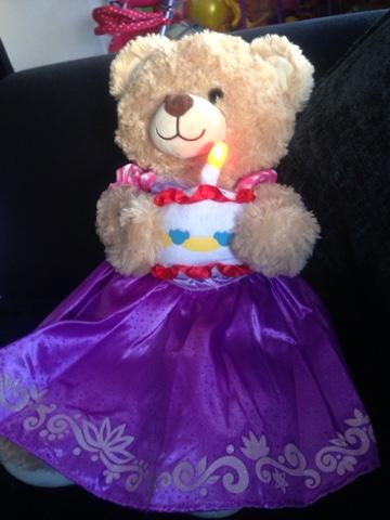 Build-a-Bear Workshop teddy