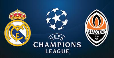 مشاهدة مباراة شاختار وريال مدريد دوري أبطال أوروبا بث المباشر