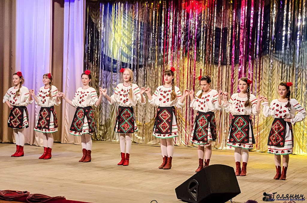 Еще раз молдавский танец