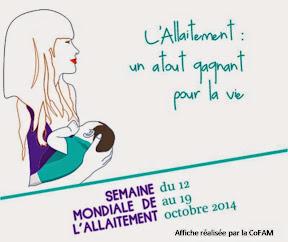 Semaine Mondiale de l'Allaitement Maternel 2014