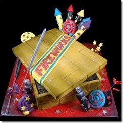 Guy Fawkes cake 3