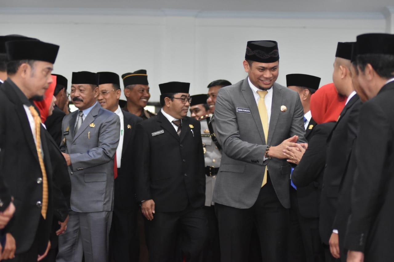 Bupati Gowa Hadiri Pelantikan Ketua dan Wakil Ketua DPRD Gowa Periode 2019-2024, Adnan Sebut Dinamika Semakin Baik Di Parlemen
