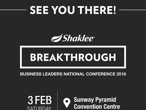 Shaklee Business Leader National Conference 2018