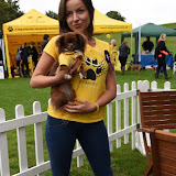 OIC - ENTSIMAGES.COM - Pola Pospieszalska at the  PupAid Puppy Farm Awareness Day 2015 London 5th September 2015 Photo Mobis Photos/OIC 0203 174 1069