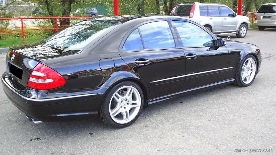 2004 Mercedes Benz E Class E55 Amg Specifications