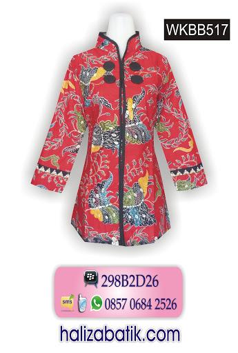 model blus batik, batik modern, fashion batik