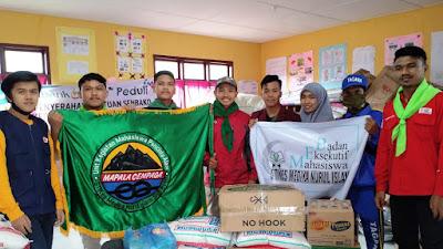 ORMAWA Kampus STIKes MNI BAGIKAN SEMBAKO Untuk KORBAN BANJIR Aceh Tengah