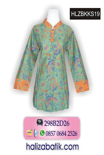 grosir batik pekalongan, Blus Modern, Blus Model Terbaru, Blus Batik Modern