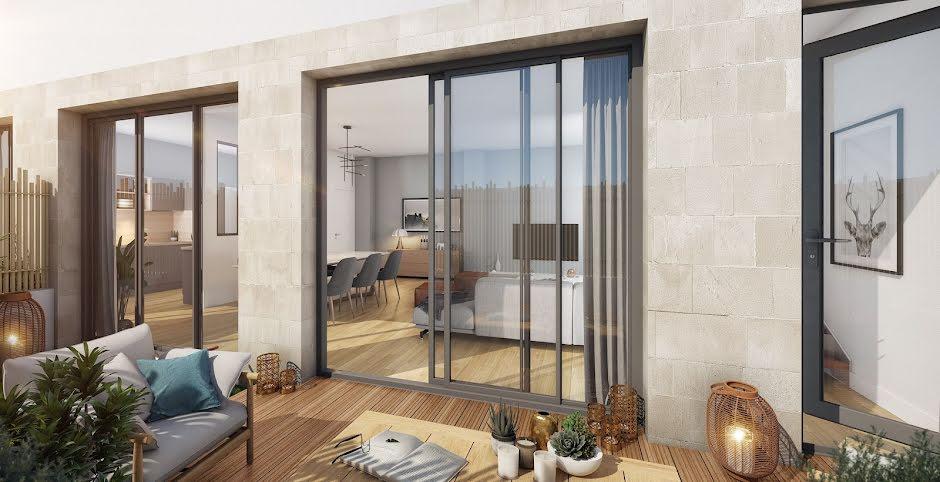 Programme immobilier neuf Bordeaux : appartements 4 pièces à partir de 586000 €
