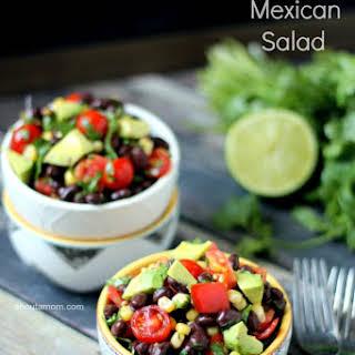 Fresh Mexican Salad.