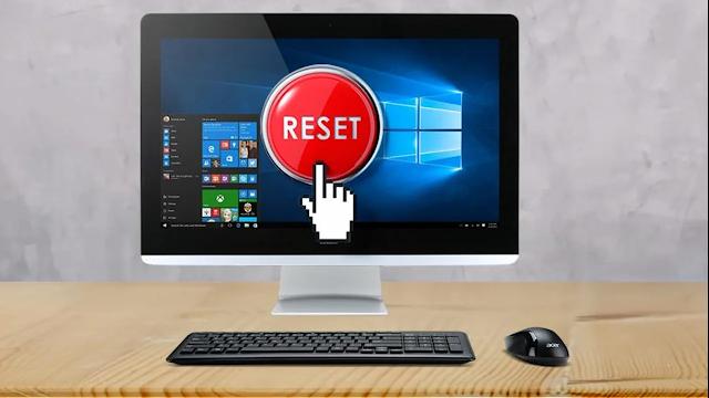 ضبط المصنع لنظام التشغيل Windows 10