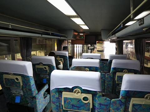 西鉄高速バス「桜島号」 9134 車内 その2