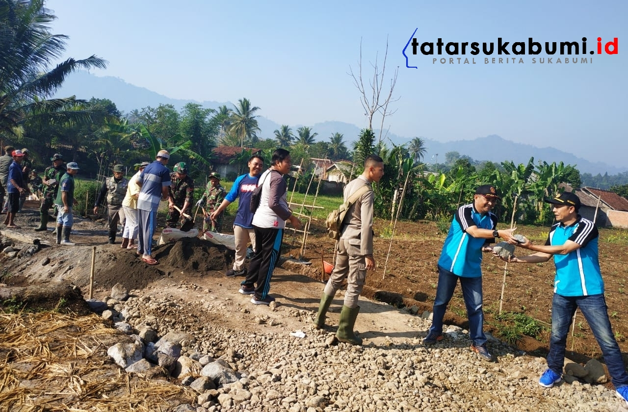 TMMD ke-105 Kodim 0607 Sukabumi TNI Manunggal Bersama Rakyat