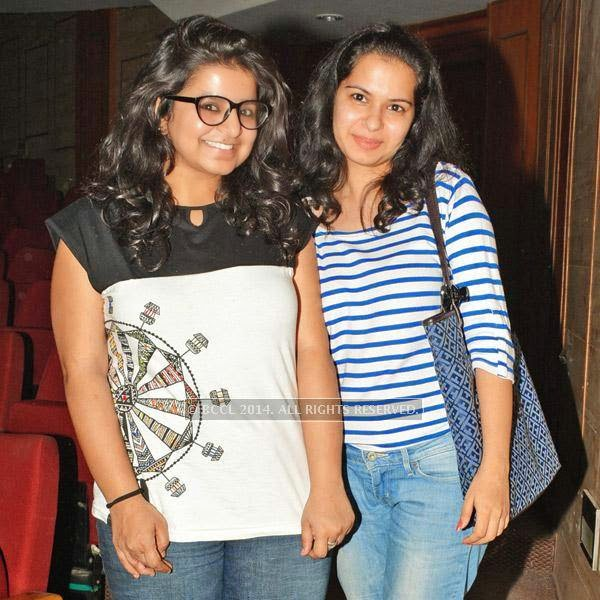 Sonam Kanotra and Aekta Oberoi during the Lucknow Theatre Festival which was organised in the city from July 17.