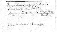 Ham, Claes van der en Ham, Hendreintje van der Huw. 05-12-1773 Ameide.jpg