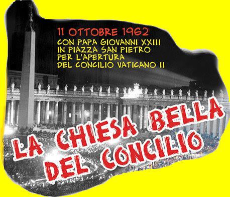Fiaccolata Ac 11 ottobre 1962 in Piazza San Pietro