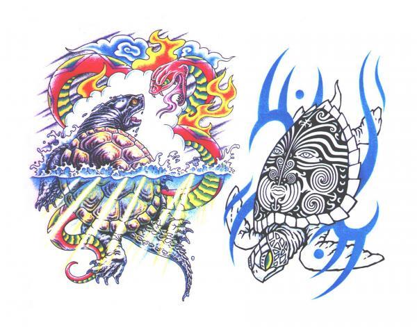 Magick Tattoo Design 13, Fantasy Tattoo Designs