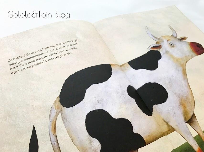 Álbum ilustrado de vacas