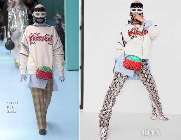 Who Wore It Better? Gucci  Fall 2018 Sweatshirt