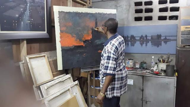 """Vote for Creativity! Vote Abiodun Olakun's """"SILHOUETTES OF LABOUR"""""""