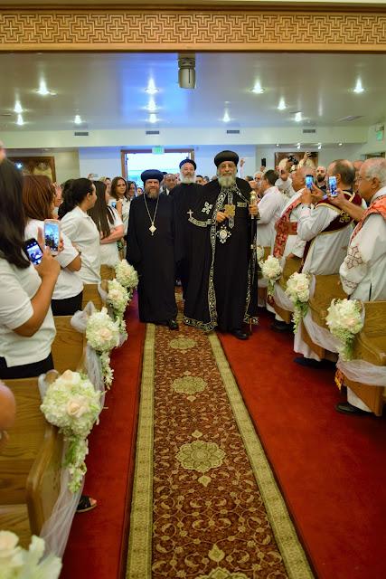 His Holiness Pope Tawadros II visit to St. Mark LA - DSC_0139.JPG