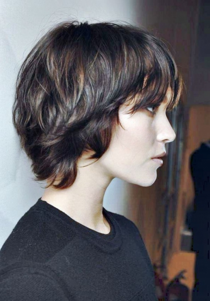 Long Pixie Haircut For Women's 2018