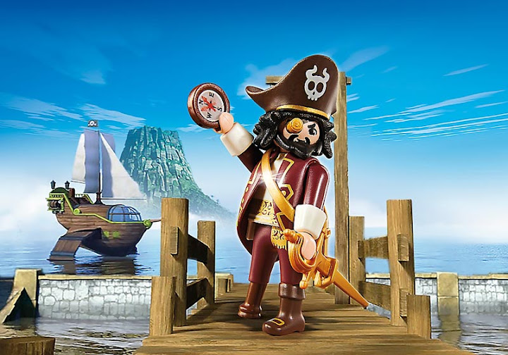 Contenido de Playmobil® 4798 Shakbeard