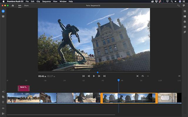 Download Adobe Premiere Rush CC 2020 v1.5.38.84