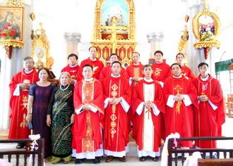 Trang sử mới của giáo xứ Quảng Nạp
